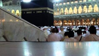 Fajr Namaz in makkah on 13.03.2010.AVI
