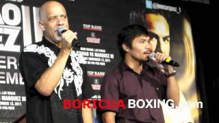 "(LIVE) MANNY PACQUIAO and DAN HILL singing ""Sometimes When We Touch"" Live in NYC - September 6, 2011"