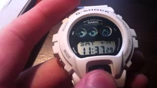 Auto Illumination on the G-Shock Casio GW-6900A-7CR