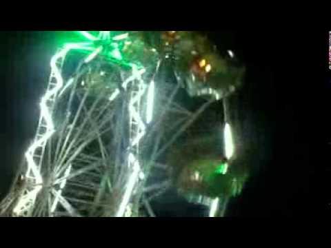 archana bhabi rides on on a big merry go round