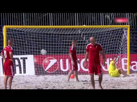 Россия 8 - 0 Венгрия   Пляжный футбол   Кубок Европы   Матч за 3-е место