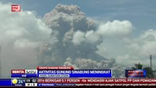 7 Kali Awan Panas Guguran dari Gunung Sinabung
