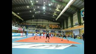 Final iran volleyball mohammadreza fattahi libero attack volleyball practice match training libero
