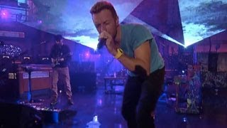 Coldplay  Every Teardrop Is A Waterfall Live On Letterman
