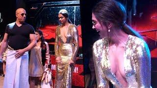 HOT Deepika Padukone Dance on Shahrukh Khan Lungi Dance Song