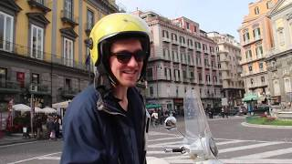 SCOOTER TOUR in Naples ITALY!!