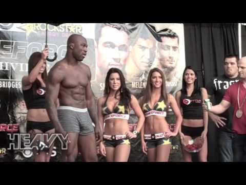 Strikeforce Nashville Weigh In Highlights - Dan Henderson, King Mo Lawal, Mayhem Miller