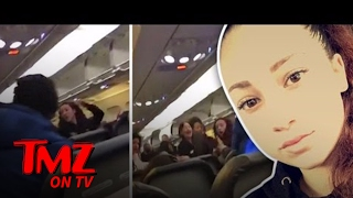"""Cash Me Ousside"" Girl Slugs an Airline Passenger! | TMZ TV"