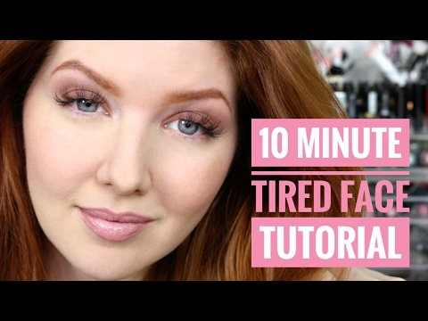 10 Minute Tired Face   Makeup Tutorial + Awakening Tips