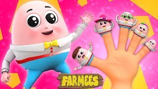Humpty Dumpty Finger Family | Video And Song For Children nursery rhymes