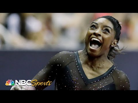 Simone Biles The GOAT claims her 6th national championship NBC Sports