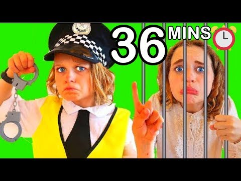 BIGGY THE POLICEMAN Best Pretend Play w The Norris Nuts