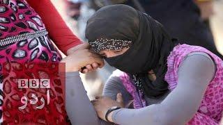 Islamic State: Yazidi women tell of sex-slavery trauma.