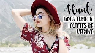 HAUL de Ropa Tumblr - Mis Outfits de Verano | Cecie