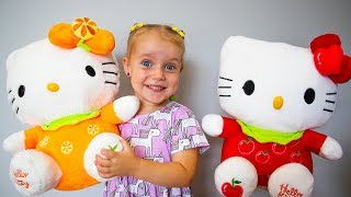 The Three Little Kittens Nursery Rhyme song for kids by Gaby