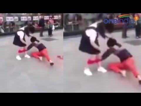 Xxx Mp4 Man Pulls Girlfriend 39 S Underwear Publicly In China Watch Video 3gp Sex