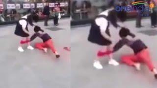 Man pulls girlfriend's underwear publicly in China , watch video