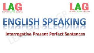 Interrogative Present Perfect Sentences  (Hindi)