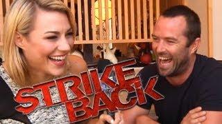 Sullivan Stapleton's Funny Interview (STRIKE BACK) Comic-Con 2013