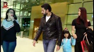 Bollywood Celebs Spotted At Airport | Aishwarya Rai, Abhishek Bachchan, Karishma Kapoor & Many More