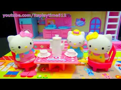 play doh hello kitty mini kitchen playset mini cocina. Black Bedroom Furniture Sets. Home Design Ideas