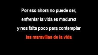 Angeles Azules ft Carla Morrison - Las Maravillas de la Vida (karaoke)