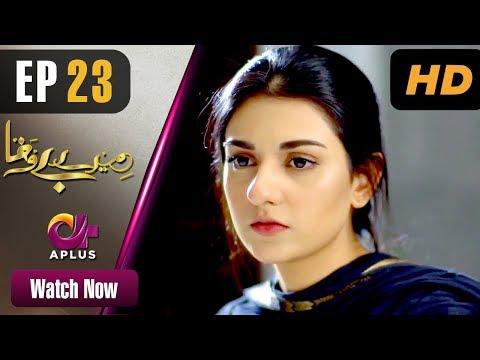 Mere Bewafa - Episode 23 | Aplus Dramas | Agha Ali, Sarah Khan, Zhalay | Pakistani Drama