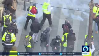 Violent demonstrations continue against French govt  policies