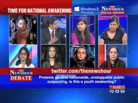 The Newshour Debate:23 yr old braveheart no more (Part 1 of 10)