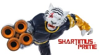 Marvel Legends Titus BAF Guardians of the Galaxy Vol 2 Wave Build A Figure Toy Review