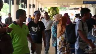 MINANGA KANWA BEHIND THE SCENE AIRPORT