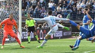 اهداف مباراة ● نابولي ⚽ امبولي 3-2 | 19-03-2017 الدوري الايطالي