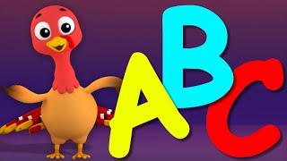 ABC Song | Learn Alphabets | 3D Nursery Rhymes Songs For Childrens And Kids by Farmees S01E28