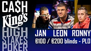 Cash Kings | High Stakes poker | 100-200€ blinds Omaha | Kings Casino August 15, 2017