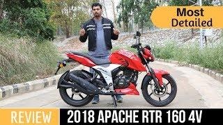 2018 TVS Apache RTR 160 4V Ride Review By Gaurav Yadav