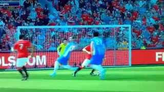 Falcao best goal with manchesterunited stunning
