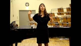 De la Cruz, Aída Audition Video