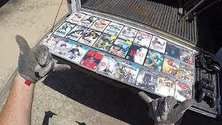 I Found All These PlayStation Games And More (Plus Weed Eater Mania!) All While Curbside Scavenging