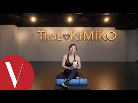 Kimiko老師分享一招消除腰腹贅肉!練出修長明星體線|VOGUE 健身教室