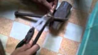 Cara membuat emban dari kabel tembaga