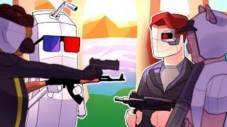 Terroriser & Wildcat vs Vanoss & Smii7y in Pixel CSGO! (Shooty Squad Funny Moments)