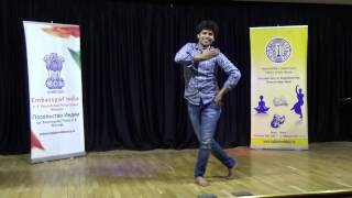Debasish Pattnaik. Bollywood workshop in Moscow