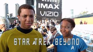 Live from the Star Trek Beyond Premiere