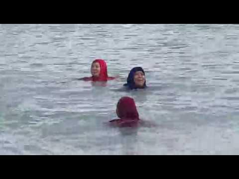 Pangkal pinang lagi senag berenang