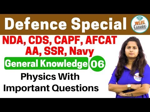 Xxx Mp4 4 00 PM Defence Special General Knowledge By Shipra Ma Am Day 06 Physics With Questions 3gp Sex