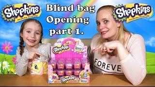 Shopkins Series/Season 2 Blind Baskets Opening Part 1