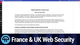 France & UK Want to Control Web