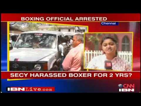 Xxx Mp4 TN Boxing Official Held For Sexual Assault India News IBNLive 3gp Sex