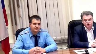 Встреча в Управе Ярослвского района с главой Горожанкиным и МЧС