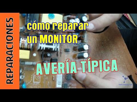 Cómo reparar el 90 de las averías de un monitor por menos de 1 euro